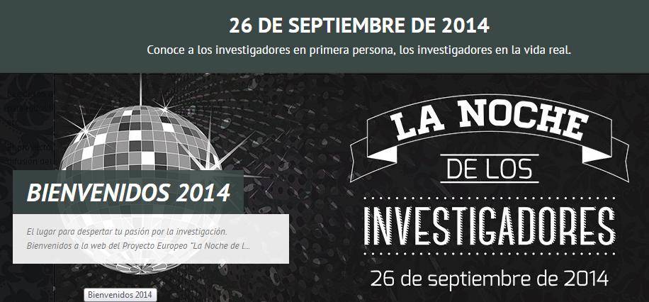 """""""La Noche de los Investigadores"""""""